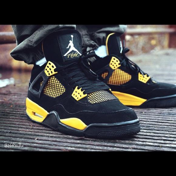 Jordan Shoes | Jordan 4 Retro Thunder